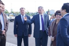 Visit of Ms. Thai Huong, Head of TH True Milk, and Anatolii Artamonov, Governor of the Kaluga oblast to Detchino