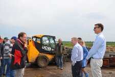 Delegation of JCB in EkoNivaAgro
