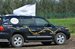 """Give Way to Milk!"" motor rally in Sibirskaya Niva"
