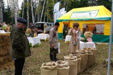 Bread Feast in Letyazhye farming enterprise