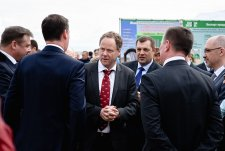Opening of the modern dairy farm Nesterovo