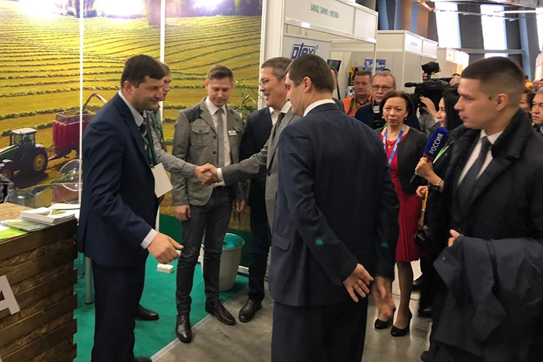 EkoNiva's soybeans become centre of interest in Bashkiria